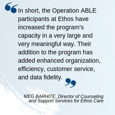 ABLE SCSEP Success with Ethos